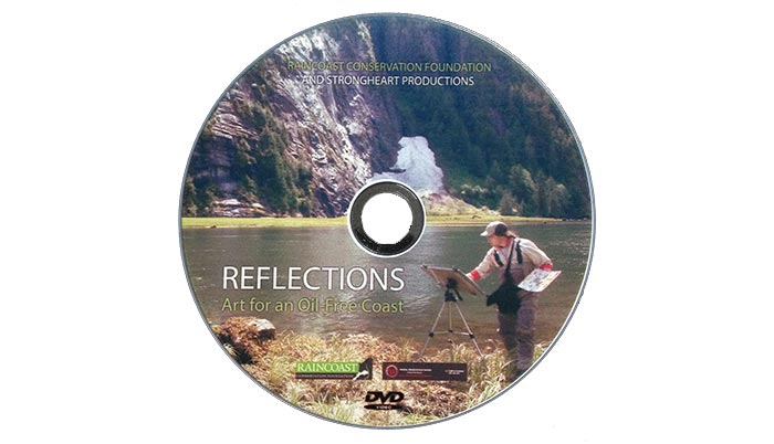 Cover of the DVD for Reflections: The Film