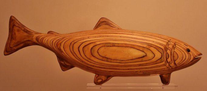 Wooden Salmon