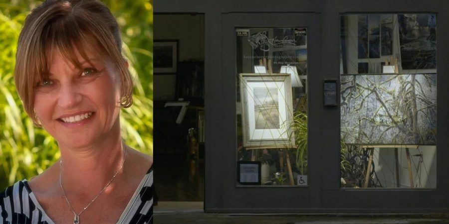 Karen Cooper, photographer, and gallery owner.