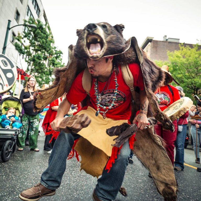 Collection of photos at Patagonia Vancouver – the relationship between salmon, bears and people