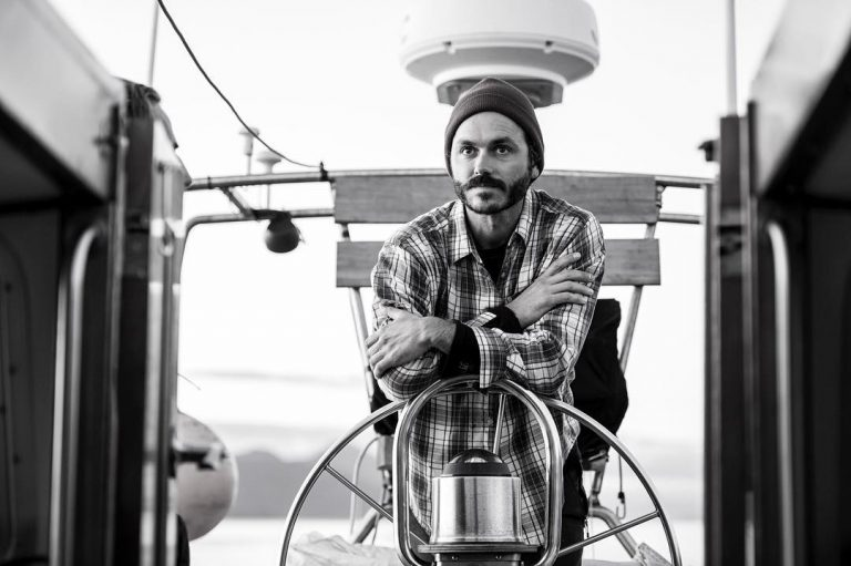 Nick Sinclair, skipper of our research vessel Achiever
