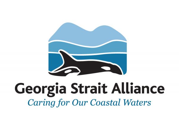 Georgia Straight Alliance Logo, caring for our coastal waters