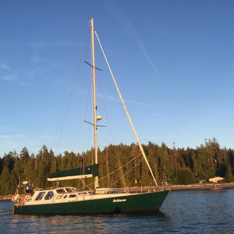 Amazing anchorage