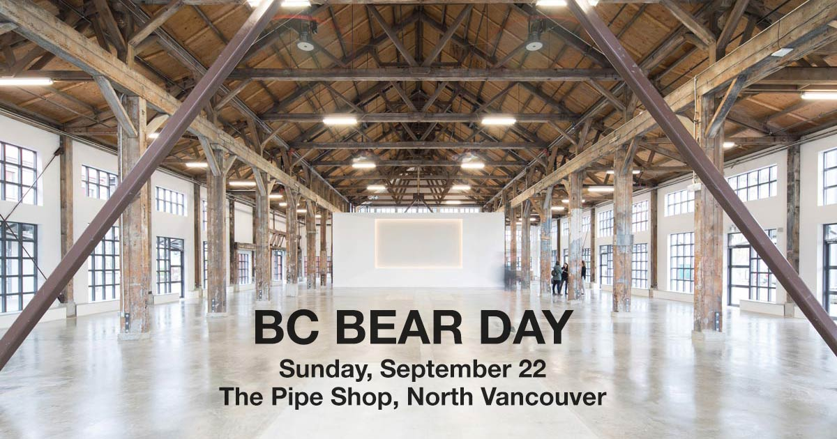 BC Bear Day on Sunday, September 22