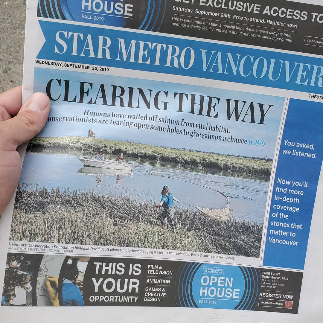 Fraser Connectivity Project makes the news